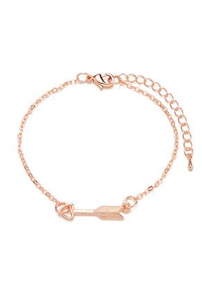 www.misstella.com - Bracelet/anklet with arrow 22-27cm