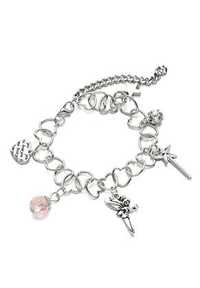 www.misstella.nl - Metalen armband met bedels sprookje 19-24cm