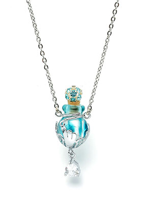 www.misstella.com - Necklace with glass bottle and gift box 55cm