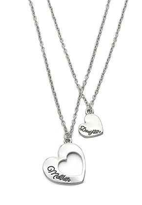 www.misstella.com - Set of necklaces with heart
