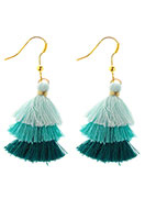 www.misstella.com - Earrings with tassels 50x20mm - J06496