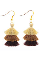 www.misstella.com - Earrings with tassels 50x20mm - J06499