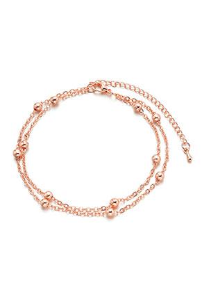 www.misstella.nl - Metalen armband/enkelbandje 20-25cm