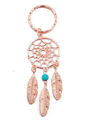 www.misstella.com - Dreamcatcher key fob