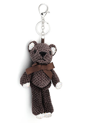 www.misstella.com - Key fob with bear