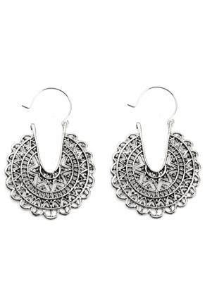 www.misstella.com - Tribal earrings 60x43mm
