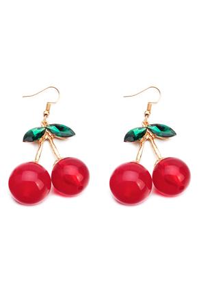 www.misstella.com - Earrings cherries 60x37mm