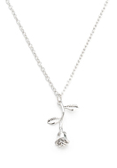 www.misstella.com - Necklace with pendant rose 50-55cm - J06735