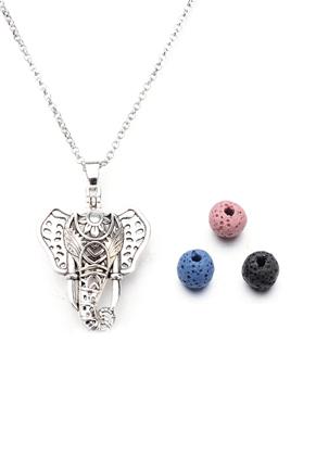 www.misstella.de - Duft Prayer Box Halskette Set Elefant 60-65cm