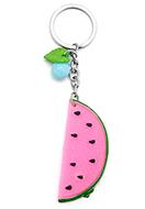 www.misstella.nl - Sleutelhanger met watermeloen 13x3cm - J06824