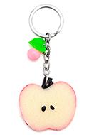 www.misstella.de - Schlüsselanhänger mit Apfel 11,5x5cm - J06830