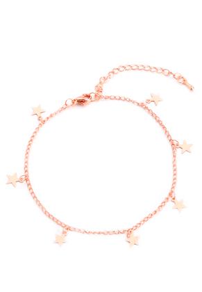 www.misstella.com - Bracelet/anklet with charms stars 22-27cm