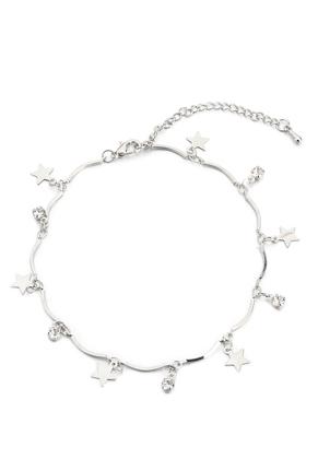 www.misstella.com - Bracelet/anklet with charms stars 20-25cm
