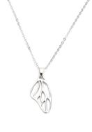 www.misstella.fr - Collier avec pendentif aile de papillon 45-50cm - J07190