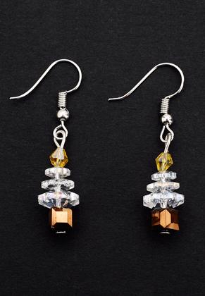 www.misstella.fr - Boucles d'oreilles avec arbre 40x10mm