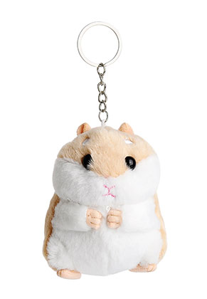 www.misstella.com - Key fob with hamster