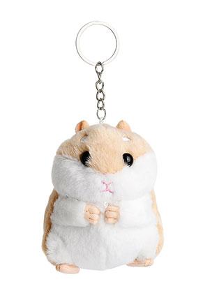 www.misstella.fr - Porte-clés avec hamster