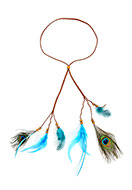 www.misstella.com - Headband with feathers - J07678