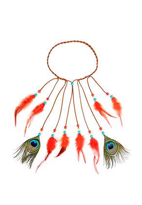 www.misstella.com - Headband with feathers