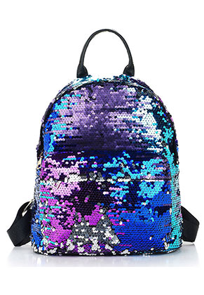 www.misstella.com - Backpack with reversible sequins 33x18x11cm