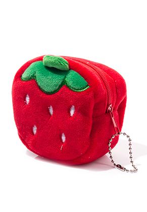 www.misstella.fr - Portemonnaie fraise 7x7x5,5cm