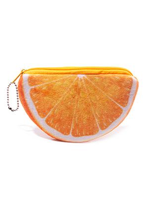 www.misstella.fr - Portemonnaie orange 14x9,5cm