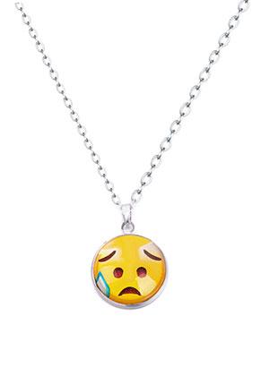 www.misstella.com - Necklace with emoji 47-52cm