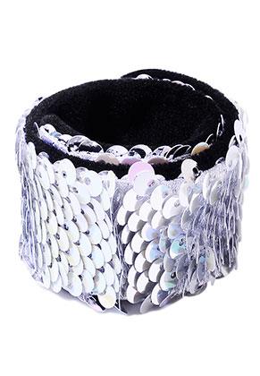 www.misstella.de - Armband  mit Wende-Pailletten