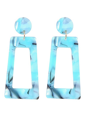 www.misstella.fr - Clous d'oreilles en synthétique resin 60x28mm
