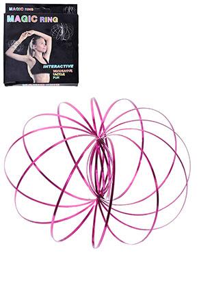 www.misstella.fr - Magic Flow ring en acier inoxydable