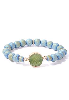 www.misstella.com - Bracelet with natural stone Crystal 18cm