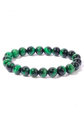 www.misstella.com - Natural stone bracelet Tiger Eye, stretchable 18cm