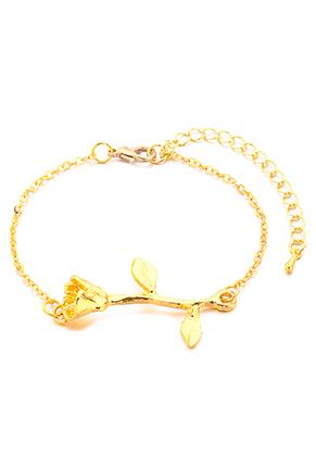 www.misstella.com - Bracelet with rose 19-25cm