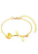 www.misstella.de - Armband mit Rose 19-25cm - J08597