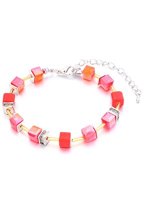 www.misstella.com - Bracelet with glass beads 19-24cm