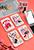 www.misstella.es - Espejo de bolsillo de sintético rectángulo estampado fashion 9x6x1cm