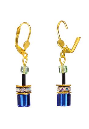 www.misstella.fr - Boucles d'oreilles avec perles en verre 44x7mm