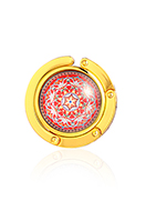 www.misstella.com - Purse hook with cabochon mandala 45mm - J09314