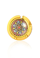 www.misstella.com - Purse hook with cabochon mandala 45mm - J09317