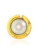 www.misstella.com - Purse hook with cabochon mandala 45mm - J09321
