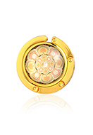 www.misstella.com - Purse hook with cabochon mandala 45mm - J09322