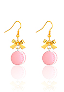 www.misstella.com - Earrings with macaron 43x14mm - J09345