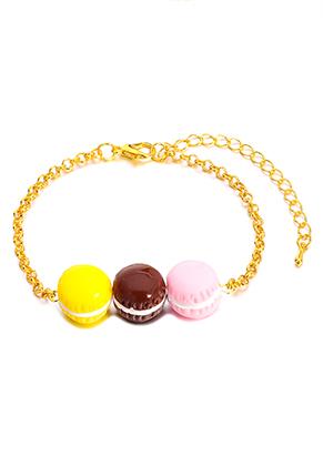 www.misstella.de - Armband mit Macarons 19-26cm