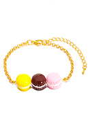 www.misstella.fr - Bracelet avec macarons 19-26cm - J09362