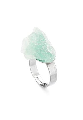 www.misstella.fr - Bague avec pierre naturelle Fluorite >= Ø 18mm