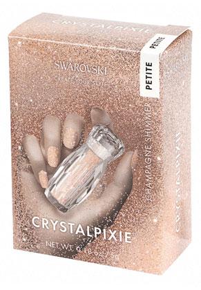 www.misstella.es - SWAROVSKI ELEMENTS nail art CRYSTALPIXIE Petite Champagne Shimmer