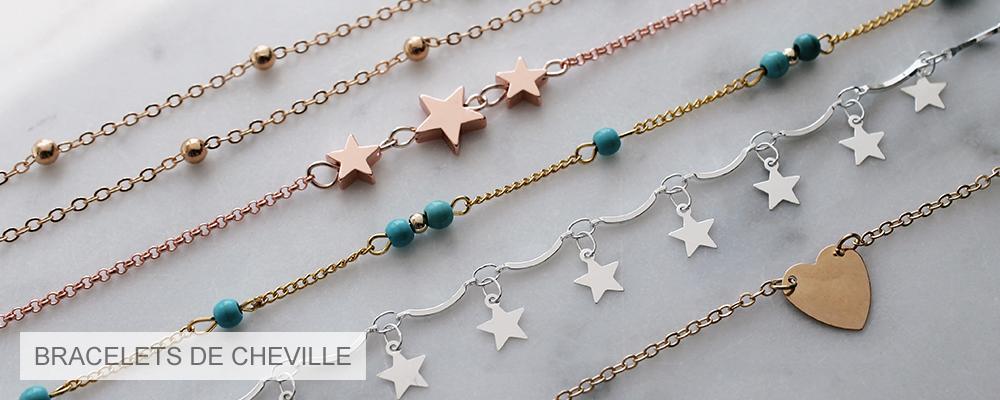 www.misstella.fr - Bracelets de cheville