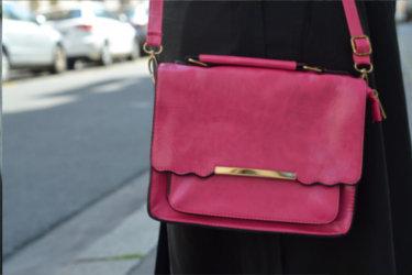 Blagueuse de mode a écrit un avis sur notre sac rose