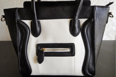 Diary Of A Mua about a cool black and white handbag