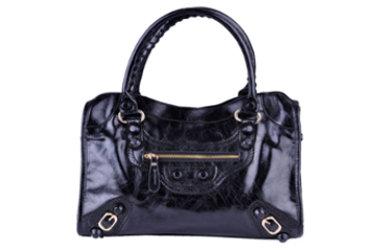 HO MY BLOG sur un sac noir